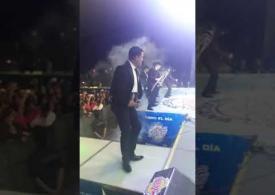 Banda La Imponente Vientos de Jalisco en La Gran Posada de Fiesta Mexicana 2017