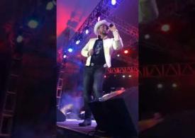 Detrás de cámaras en la presentación de Roberto Tapia en La Gran Posada de Fiesta Mexicana 2017